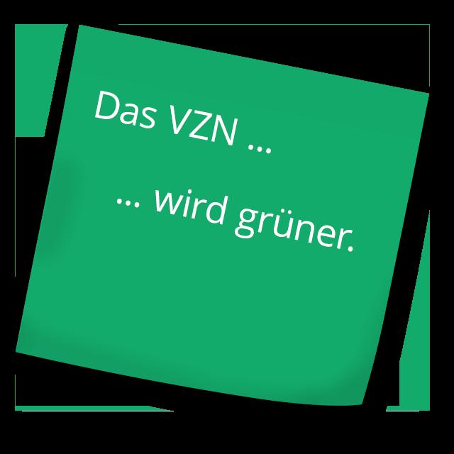 Das VZN wird grüner.
